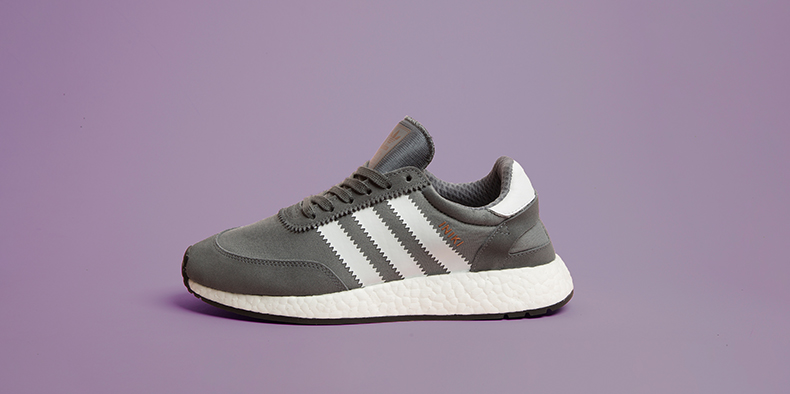 Grey adidas Iniki Runner