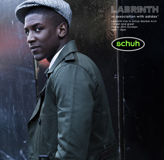 Labrinth opens schuh Marble Arch in association with adidas